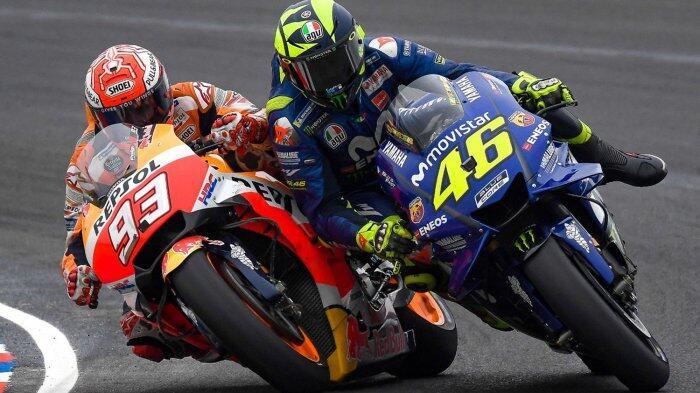 Valentino Rossi: Marquez, Jangan Pernah Tatap Muka Saya Lagi!