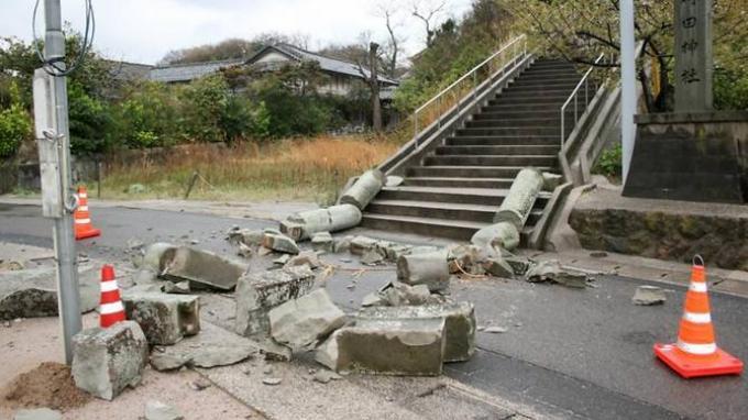 5 Orang Terluka Setelah Gempa Bumi Guncang Jepang