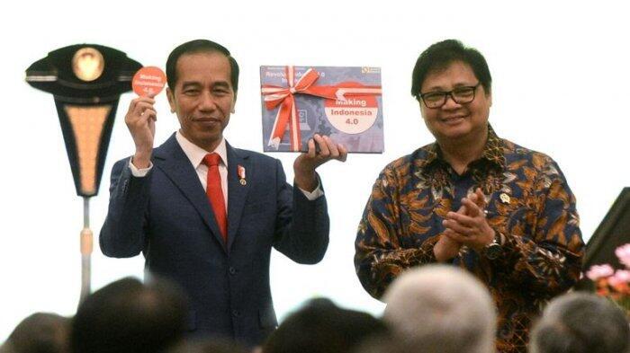 Isyarat Airlangga soal Partai Berwarna Biru yang Bakal Ikut Dukung Jokowi, Demokrat?