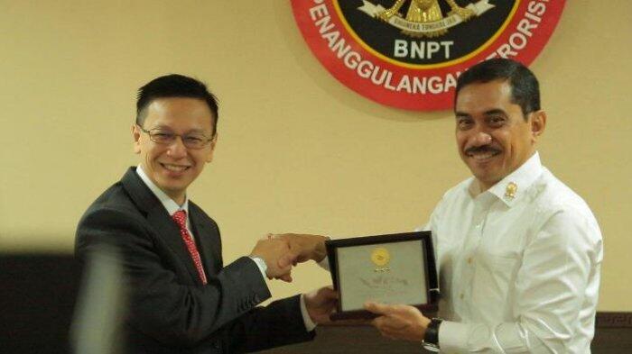 Singapura Tingkatkan Kerjasama Penanggulangan Terorisme dengan BNPT