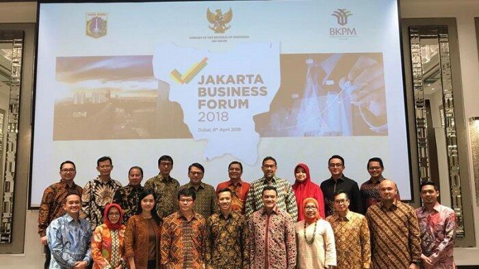 Kejar Target Investasi, Pemprov DKI Gelar Jakarta Business Forum di Dubai