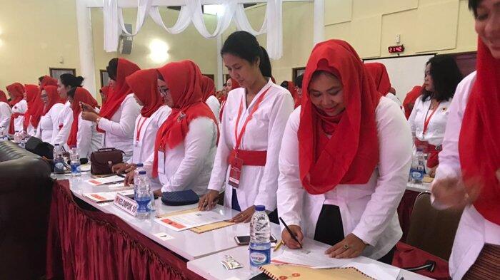 Deklarasi Rampak Sarinah Bakar Semangat Kader Perempuan PDIP