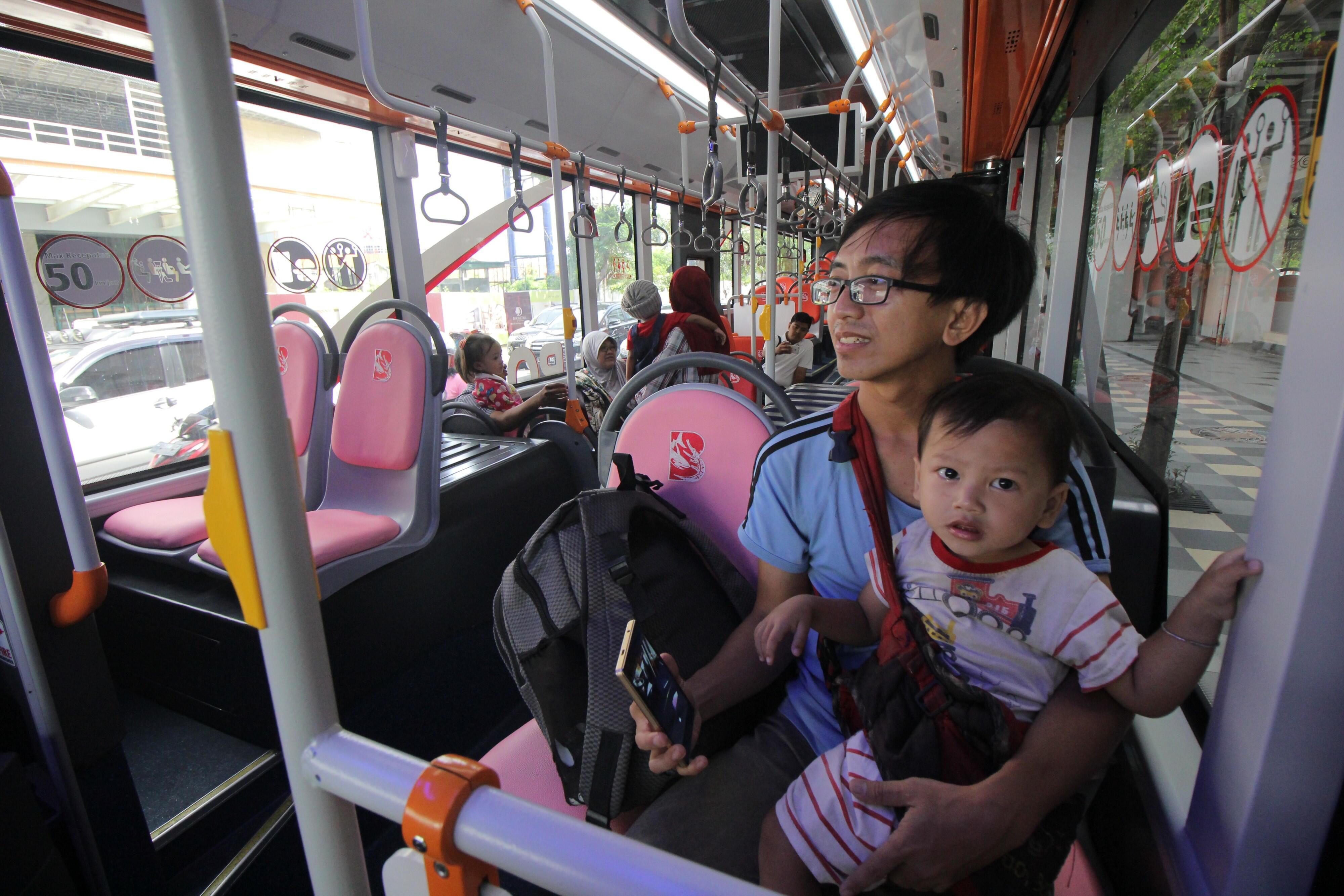 Dishub: Suroboyo Bus Aman dan Ramah untuk Kaum Difabel