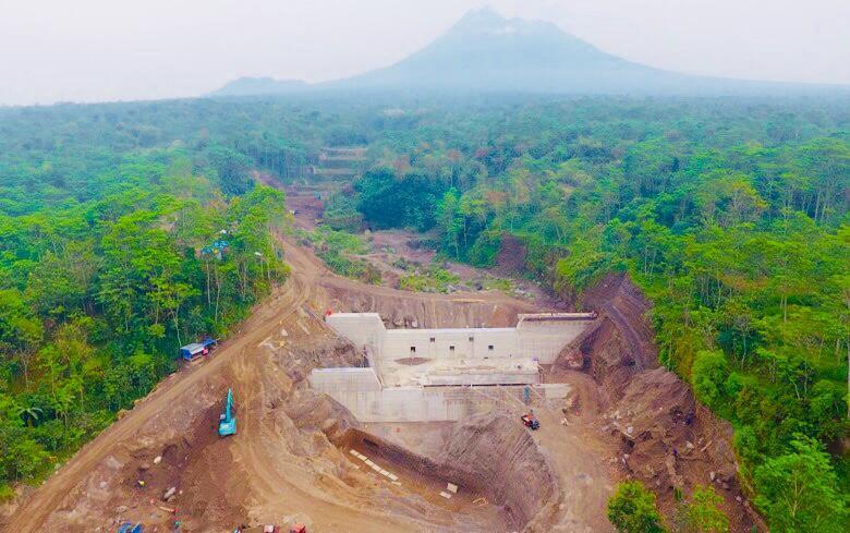Antisipasi Banjir Lahar Merapi, PUPR Rampungkan Sabo Dam Kali Woro
