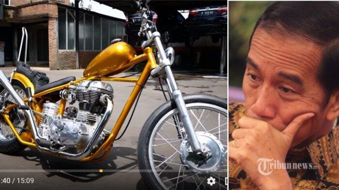 UU yang Dilanggar dalam Modifikasi Motor Chopper Jokowi