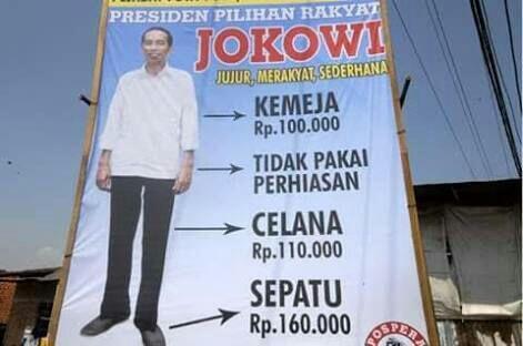 """Dibuat """"Custom"""", Ini Harga Jaket Denim Jokowi"""