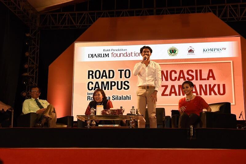 Saat Prof Mahfud, Inayah Wahid dan Reza Rahadian Ngomongin Pancasila