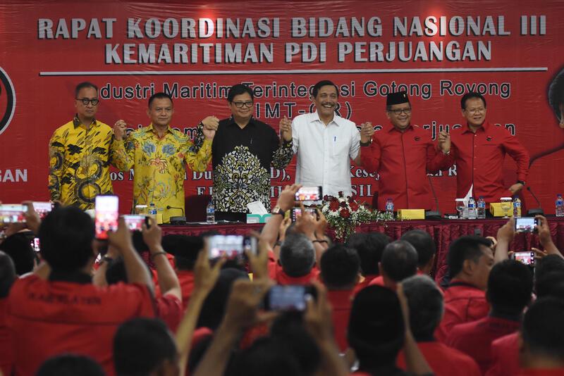 Airlangga Janji Gak Akan Baper Kalau Tidak Terpilih Cawapres Jokowi