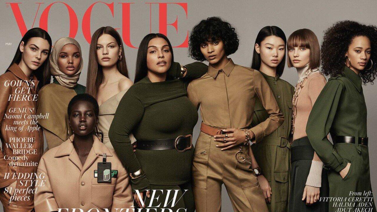 Cetak Sejarah, Sampul Majalah Vogue Inggris Tampilkan Model Berhijab Pertama Kali