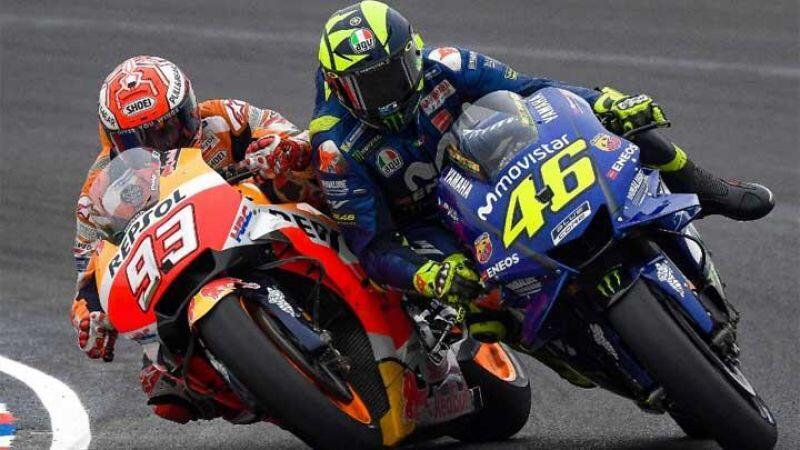 Komentar Bos Honda Soal Insiden Marquez-Rossi