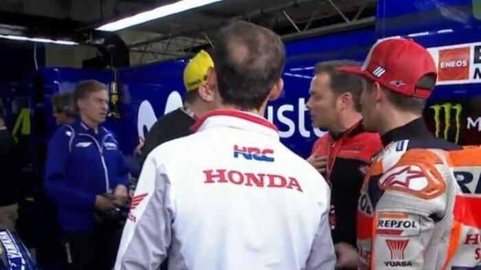 Valentino Rossi Ogah Terima Maaf Marc Marquez Malah Dapat Cibiran Negatif Netizen