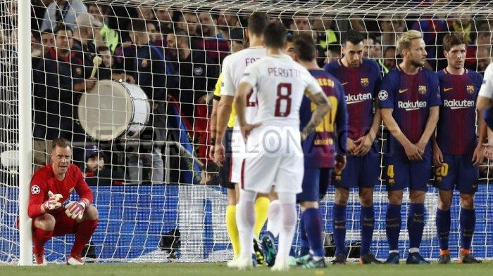 Live Streaming Liga Champions: As Roma Vs Barcelona Pukul 01.45 WIB