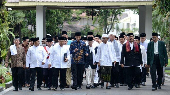 Bertemu di Istana, Ulama Jabar Dukung Jokowi di Pilpres 2019