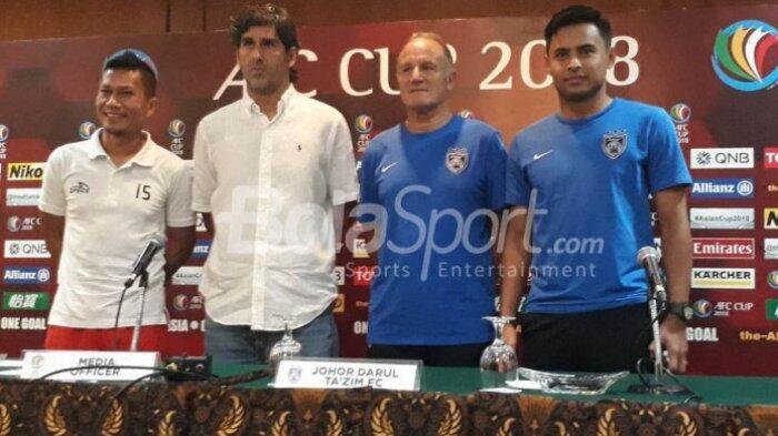 Link Live Streaming Piala AFC Persija Jakarta Vs Johor Darul Takzim di SUGBK