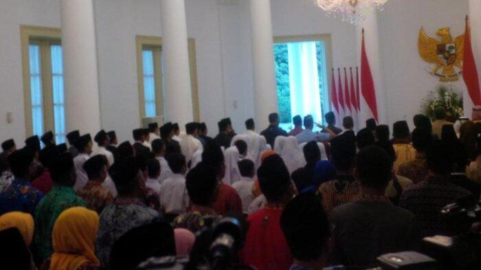 Jokowi Gelar Peringatan Isra Mi'raj Nabi Muhammad SAW di Istana Bogor