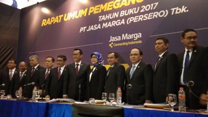 Jasa Marga Bukukan Tingkatkan Laba Bersih 2017 Totalnya Rp 2,20 Triliun