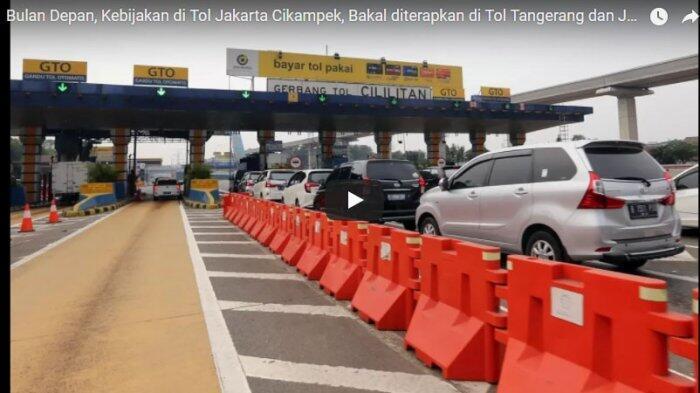 Besok Bakal Dilaksanakan Sosialisasi Ganjil Genap di Tol Tangerang
