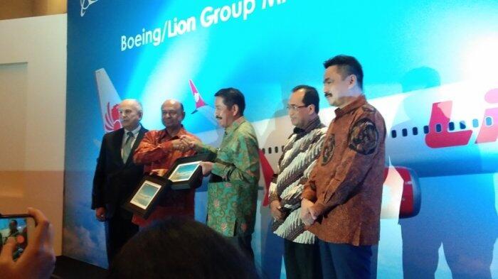 Lion Air Group Jadi Maskapai Pertama yang Beli Boeing 737 Max 10