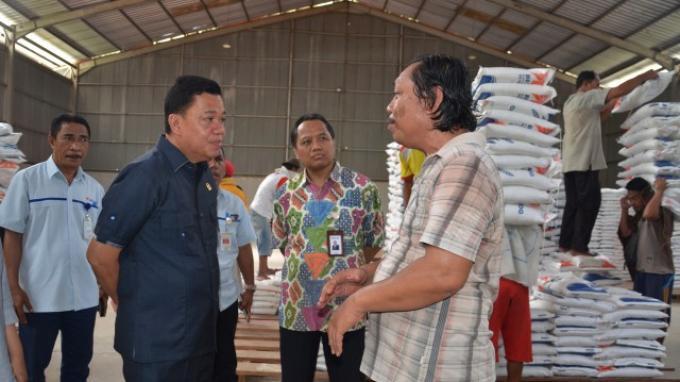 Bulog Gorontalo Dinilai Baik Karena Kondisi Stok Beras Yang Mencukupi