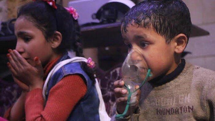 Serangan Senjata Kimia di Douma, Trump: Yang Terlibat akan Terima Akibatnya