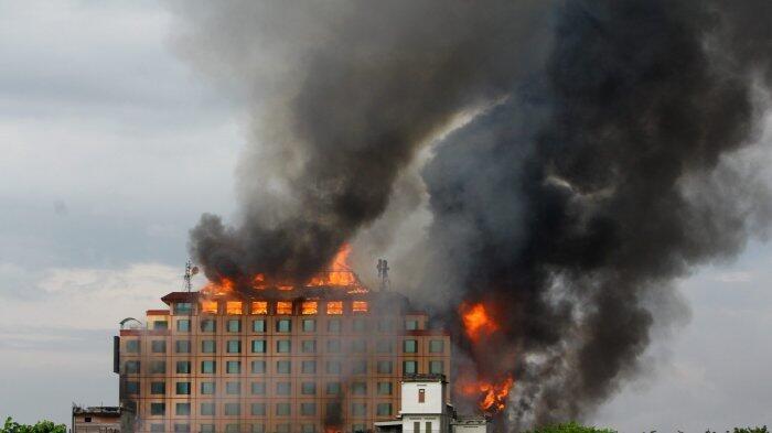 Polda Jambi Periksa 6 Saksi Kasus Terbakarnya Hotel Novita