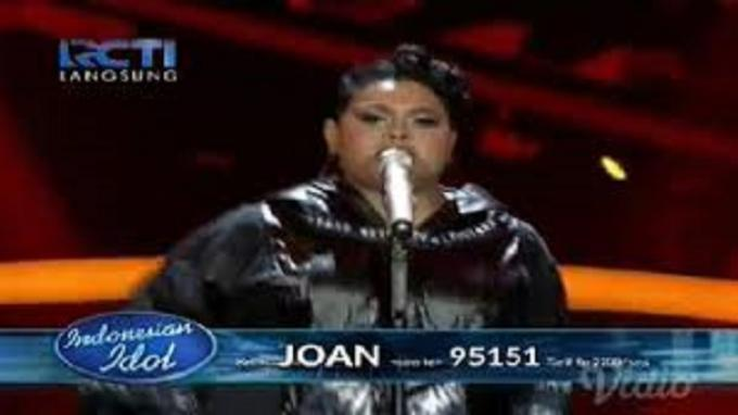 Bawakan Lagu Whitney Houston, Joan Pukau Juri Indonesian Idol
