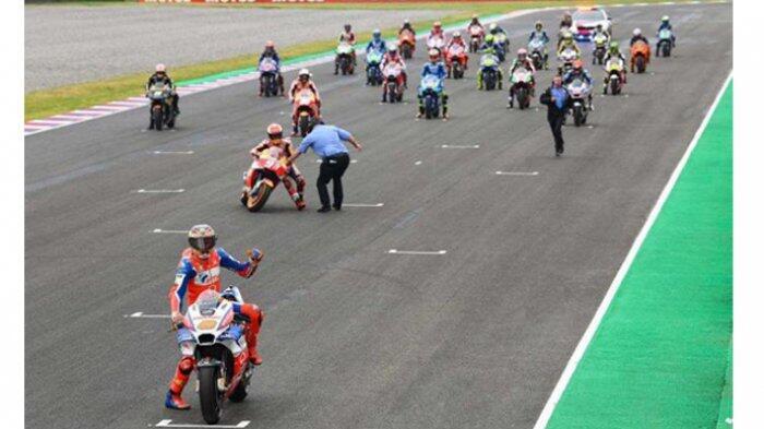 Marc Marquez Justru Salahkan Marshal Soal Insiden Saat Start di GP Argentina