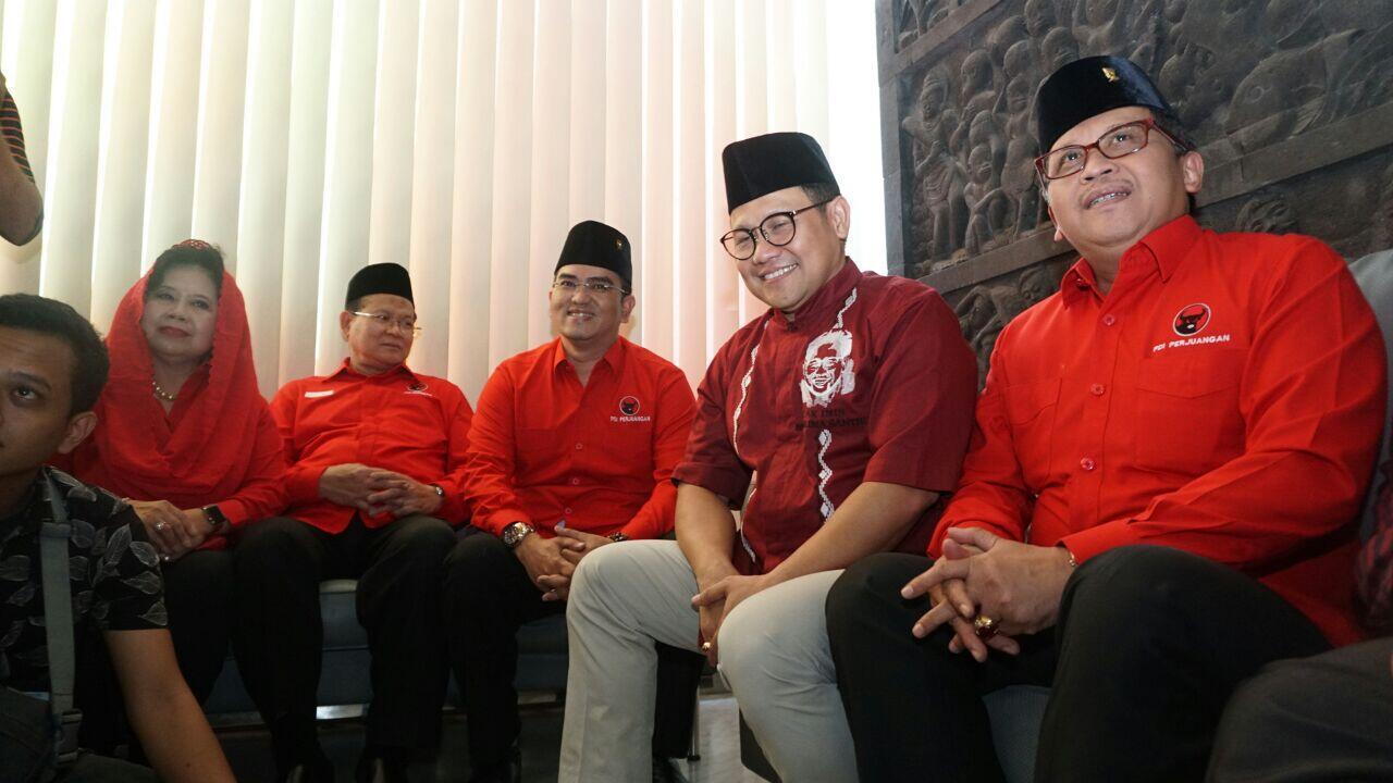 Tanggapan PDIP soal Cak Imin Deklarasikan Diri Cawapres Jokowi