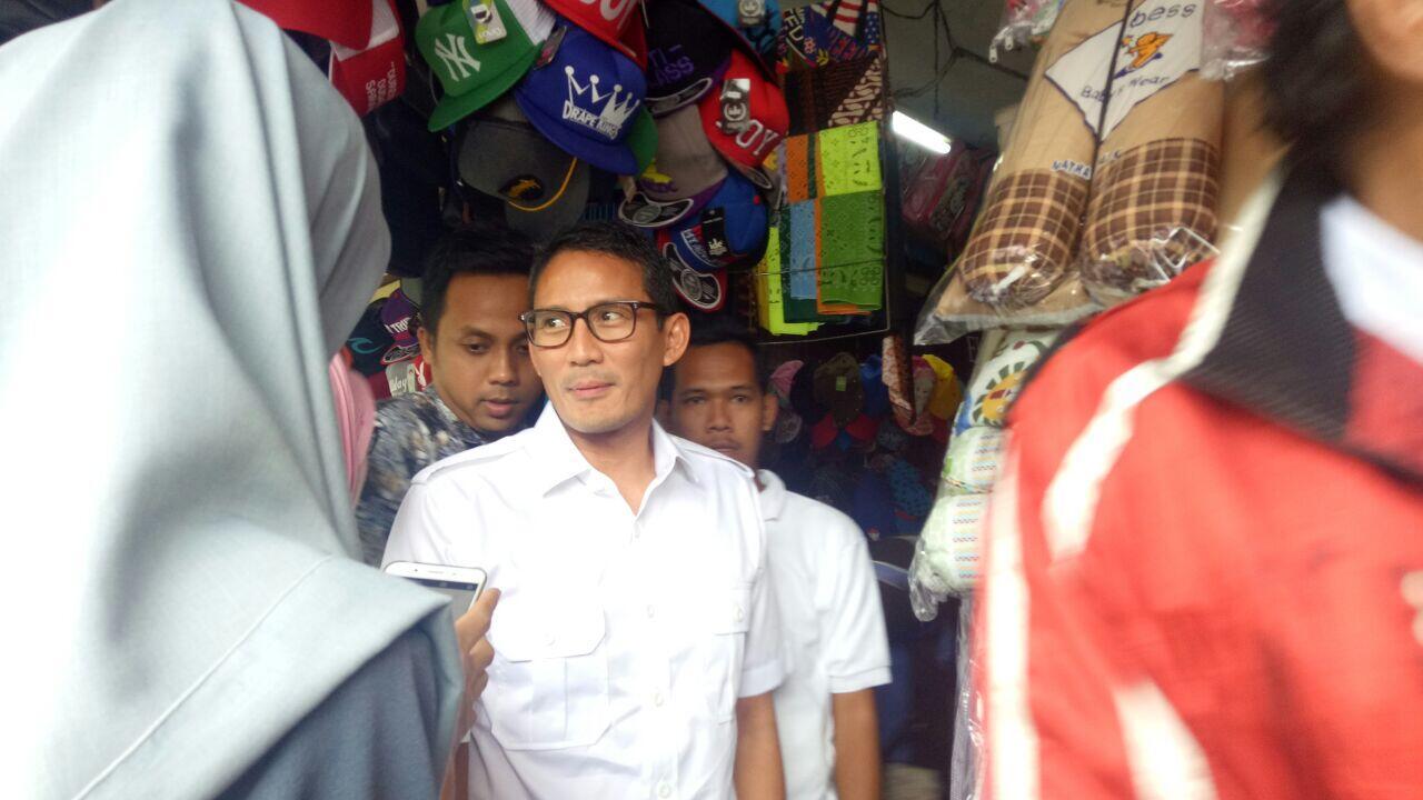 Sandi Tepis Prabowo Batal Nyapres di 2019