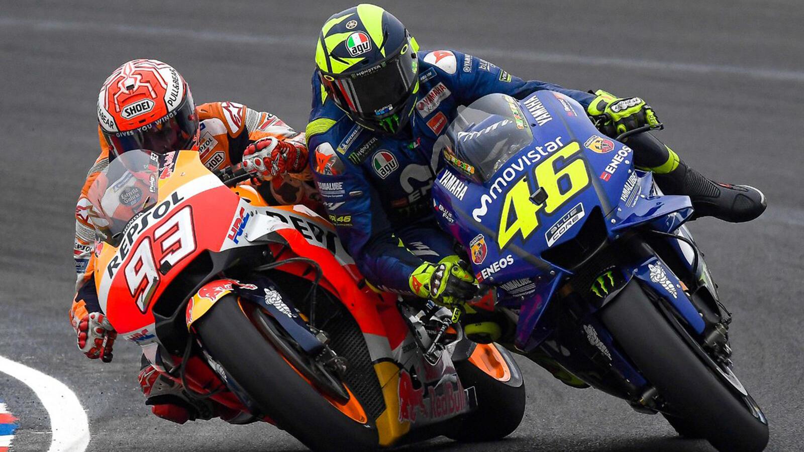 'Insiden Rossi-Marquez Terlalu Dibesar-besarkan'