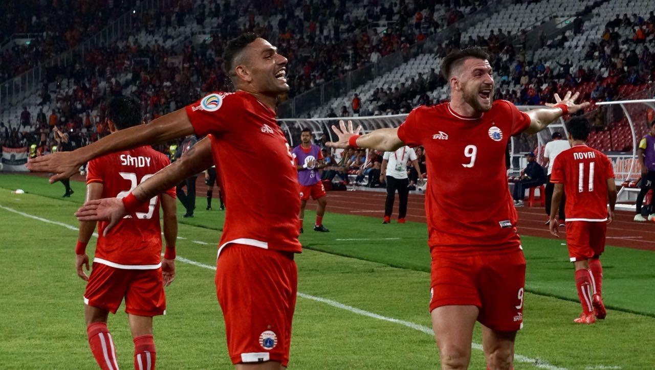 Quatrick Marko Simic Bawa Persija Hancurkan 10 Pemain JDT