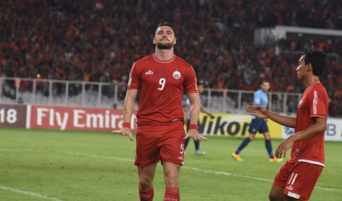 Quattrick Simic Buka Peluang Persija Lolos ke Fase Gugur Piala AFC