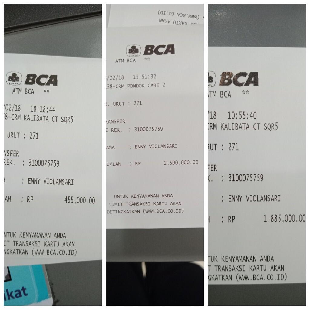 KC TUMINI TIDAK PROFESIONAL!!! PESAN 600 PORSI HANYA DIKIRIM 400 PORSI!!