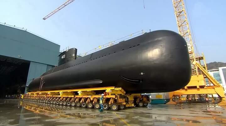 INDONESIA punya kapal selam baru KRI ARDADEDALI 404