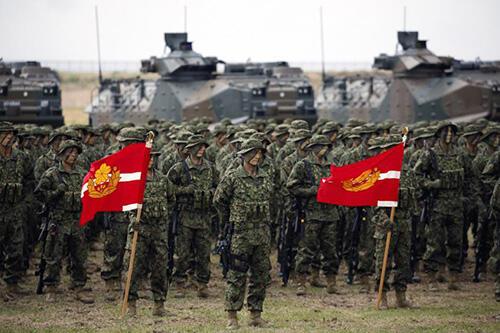ARDB, Pasukan Marinir Jepang Yang Baru Diaktifkan Kembali Setelah PD II