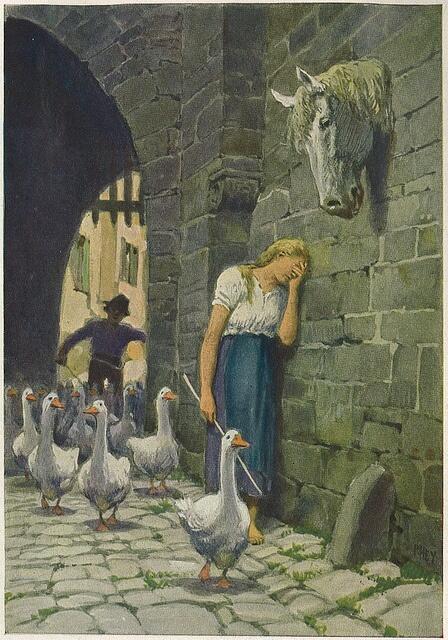 The Goose Girl (1815), Dongeng Indah Yang Endingnya Tragis