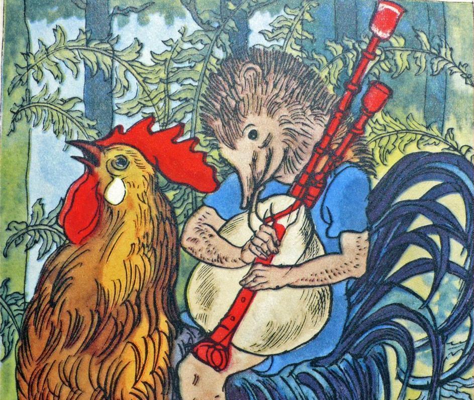 """""""Hans My Hedgehog"""" (1819), Dongeng manusia landak yang punya banyak kontroversi."""