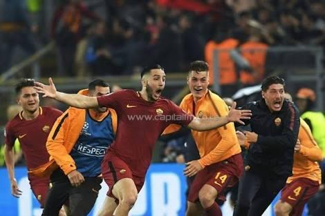 Comeback Roma singkirkan Barcelona