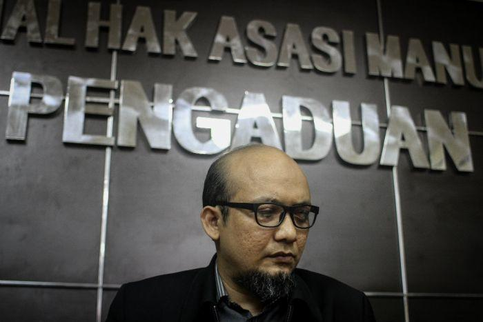 Menunggu sikap Jokowi saat setahun kasus Novel Baswedan