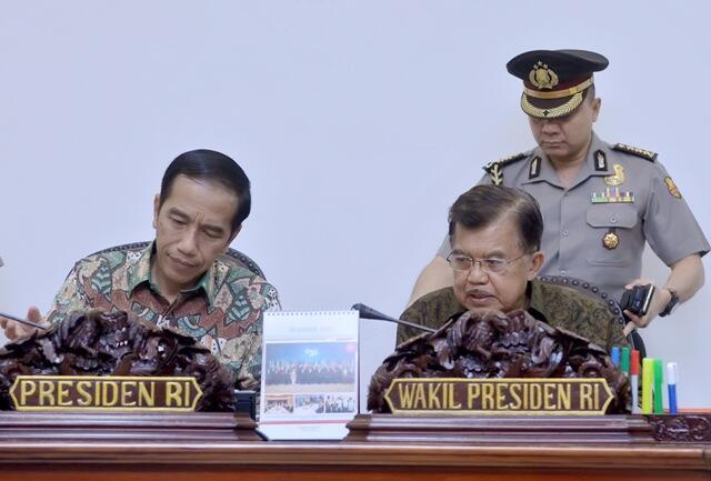 Kalla tak Persoalkan Jokowi Berkampanye Gunakan Pesawat Kepresidenan