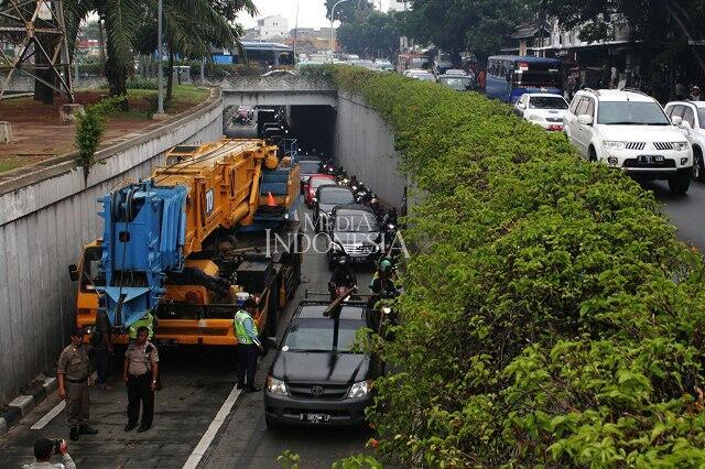 50 Personel Dishub Diterjunkan Urus Kemacetan Underpass Matraman