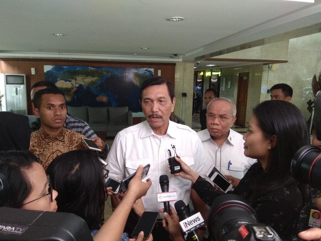 Luhut: Jokowi juga Manusia