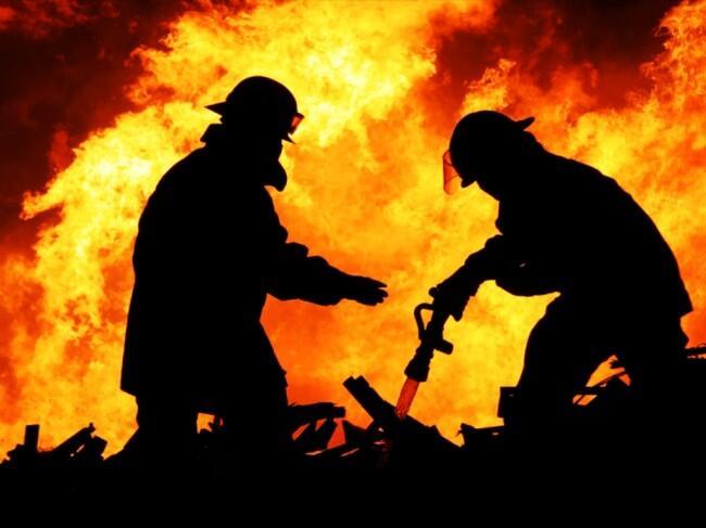 Pasar Sentral di Manokwari Terbakar