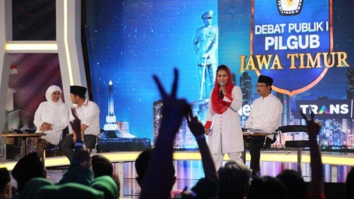 Reaksi Warganet atas Debat Seru Emil Dardak dan Puti Soekarno