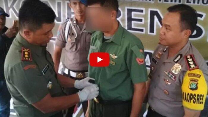 Hanya Ingin Terlihat Gagah, Kepala Gudang Pabrik Tepung Ini Menyamar Jadi TNI