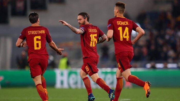 Berhasil Taklukan Barcelona, AS Roma Justru Dekat ke Jurang Kegagalan