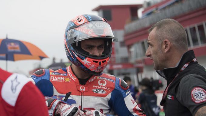 Danilo Petrucci Disangkutkan dengan Insiden Marquez dan Valentino Rossi