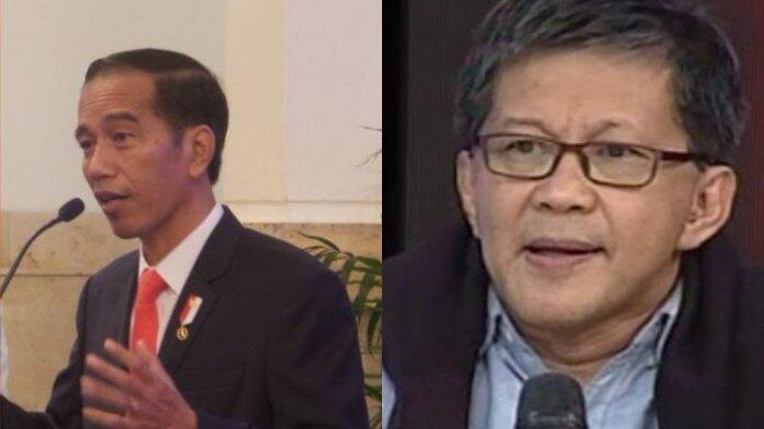 Rocky Gerung Sebut Ada Kepalsuan dari Pidato Jokowi yang Tanggapi soal Prabowo