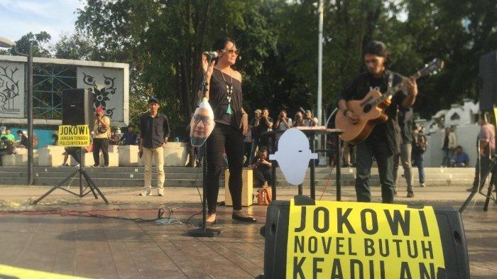 Sejumlah Musisi Desak Jokowi Bentuk TGPF Kasus Penyiraman Novel Baswedan
