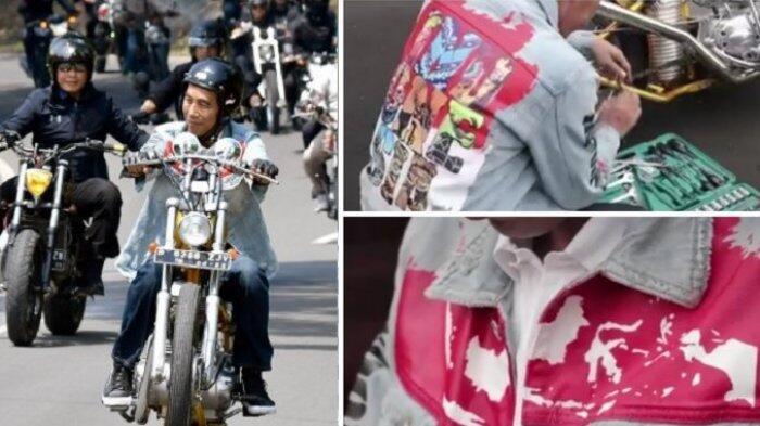 Ternyata Seperti Ini Perjuangan Pembuatan Jaket yang Dikenakan Jokowi